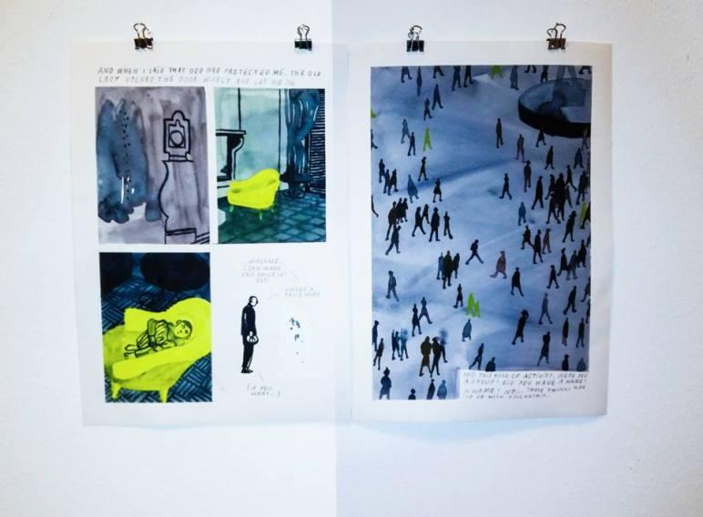 Ausstellung Comics